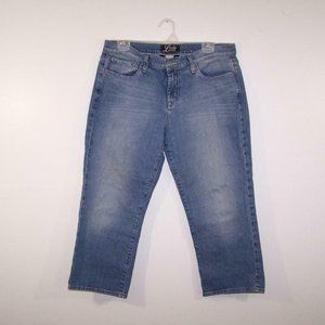 Lucky Brand Jeans Crop 12/31 Classic Rider Med